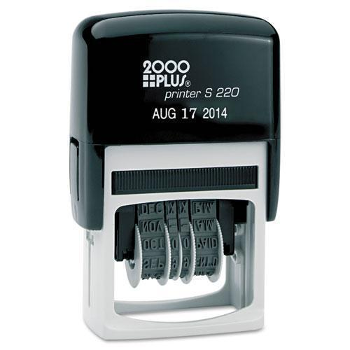 2000 PLUS Economy Dater, Self-Inking, Black-COSCO 2000PLUS®-Omni Supply