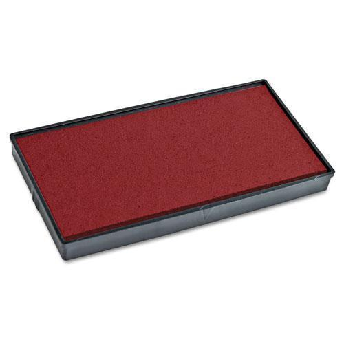 2000 PLUS Replacement Ink Pad For 2000plus 1si30pgl, Red-COSCO 2000PLUS®-Omni Supply