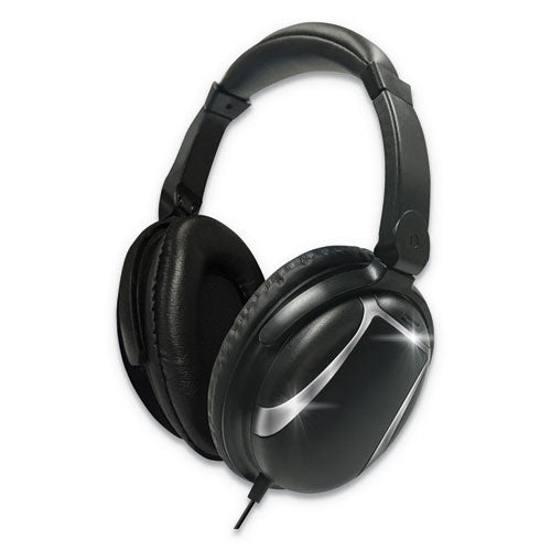Maxwell Bass 13 Wireless Headphone With Mic, Black