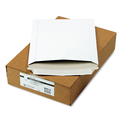 QualityPrk Photo-document Mailer, Redi Strip, 9 X 11 1-2, White, 25-box