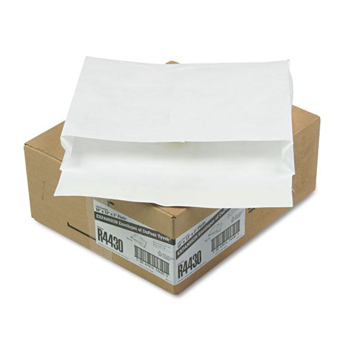SURVIVOR Tyvek Expansion Mailer, 10 X 13 X 2, White, 18lb, 100-carton