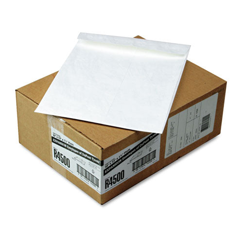 SURVIVOR Tyvek Expansion Mailer, 10 X 13 X 1 1-2, White, 100-carton