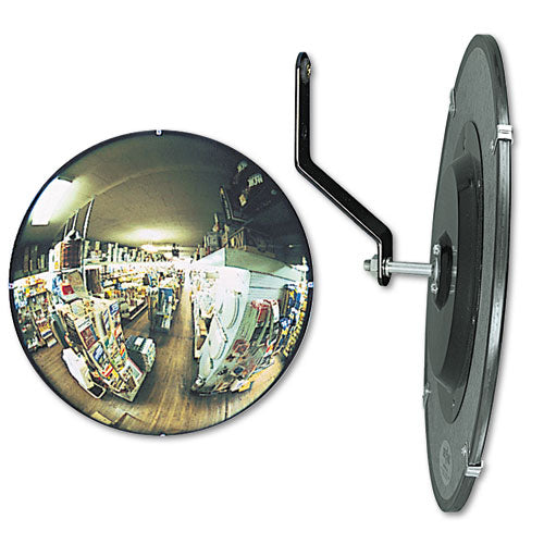 "See All 160 Degree Convex Security Mirror, 26"" Dia."