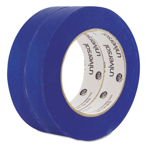 Universal PREMIUM BLUE MASKING TAPE, 24MM X 54.8M, BLUE, 2-PACK