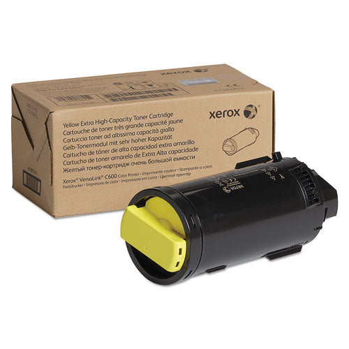 Xerox 106R03918 EXTRA HIGH-YIELD TONER, 16800 PAGE-YIELD, YELLOW