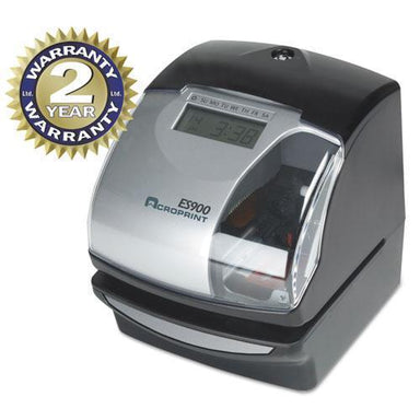 Acroprint Es900 Digital Automatic 3-In-1 Machine, Silver And Black-Acroprint®-Omni Supply