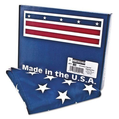 Advantus All-Weather Outdoor U.s. Flag, Heavyweight Nylon, 3 Ft X 5 Ft-Advantus-Omni Supply