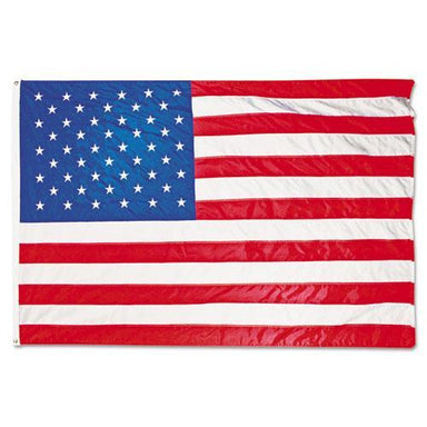 Advantus All-Weather Outdoor U.s. Flag, Heavyweight Nylon, 4 Ft X 6 Ft-Advantus-Omni Supply