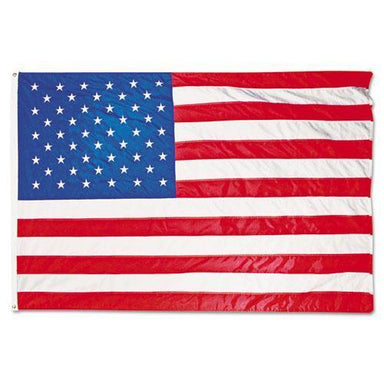 Advantus All-Weather Outdoor U.s. Flag, Heavyweight Nylon, 5 Ft X 8 Ft-Advantus-Omni Supply