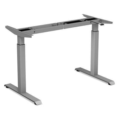 "Alera 2-Stage Electric Adjustable Table Base, 27 1-2"" To 47 1-4"" High, Gray-Alera®-Omni Supply"