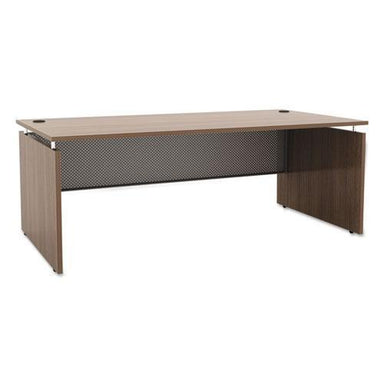 Alera Alera Sedina Series Straight Front Desk Shell, 72w X 36d X 29.5h, Modern Walnut-Alera®-Omni Supply