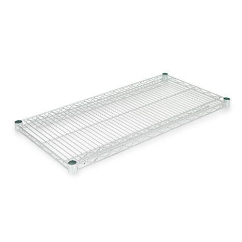 Alera Industrial Wire Shelving Extra Wire Shelves, 36w X 18d, Silver, 2 Shelves-carton-Alera®-Omni Supply