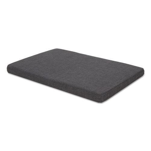 Alera Seat Cushion For Low Credenzas, 29 1-2 X 19 1-8 X 2 1-8, Smoke-Alera®-Omni Supply