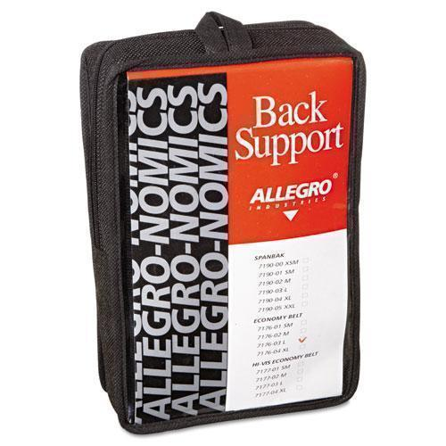 Allegro Economy Back Support Belt, Large, Black-Allegro®-Omni Supply