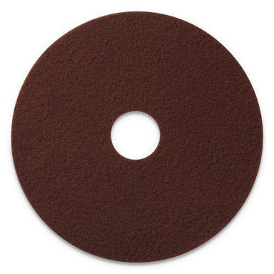 "Americo ECOPREP EPP SPECIALTY PADS, 20"" DIAMETER, MAROON, 10-CT-Americo®-Omni Supply"