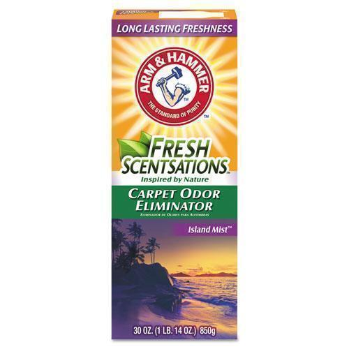 ArmHammer Fresh Scentsations Carpet Odor Eliminator, Island Mist, 30 Oz Box-Arm & Hammer™-Omni Supply
