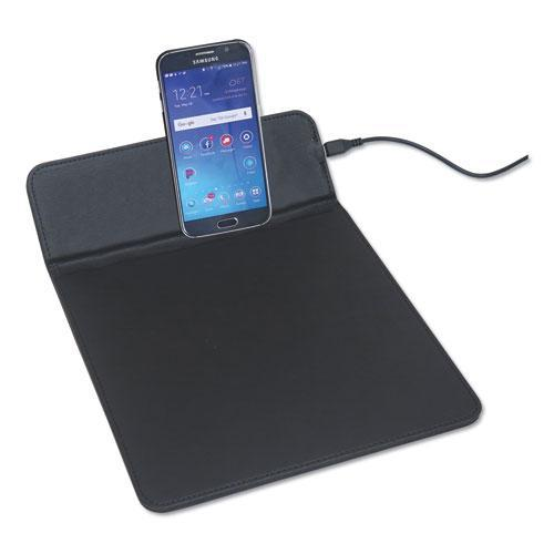 "Artistic WIRELESS CHARGING PADS, QI WIRELESS CHARGING, 5W, 11"", BLACK-Artistic®-Omni Supply"