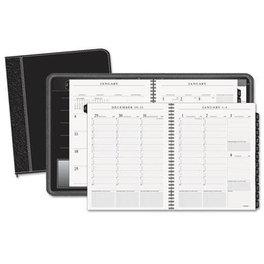 ATAGLANCE COLUMNAR EXECUTIVE WEEKLY-MONTHLY APPOINTMENT BOOK, ZIPPER, 8 1-4 X 10 7-8, 2019-AT-A-GLANCE®-Omni Supply