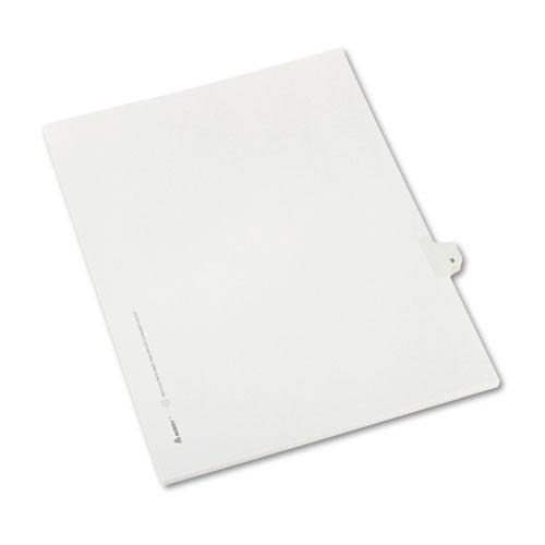 Avery Allstate-Style Legal Exhibit Side Tab Divider, Title: 9, Letter, White, 25-pack-Avery®-Omni Supply