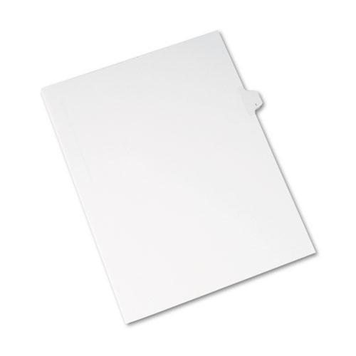 Avery Allstate-Style Legal Exhibit Side Tab Divider, Title: I, Letter, White, 25-pack-Avery®-Omni Supply