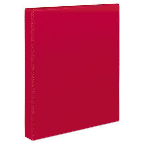 "Avery Durable Binder With Slant Rings, 11 X 8 1-2, 1"", Red-Avery®-Omni Supply"