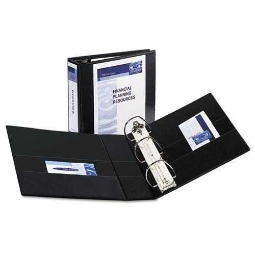 "Avery Durable View Binder W-nonlocking Ezd Rings, 11 X 8 1-2, 4"" Cap, Black-Avery®-Omni Supply"