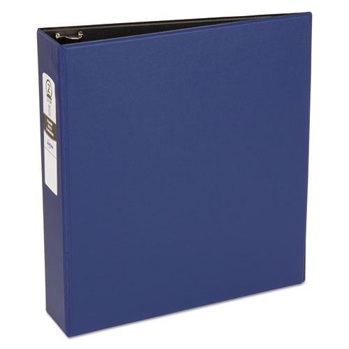 "Avery Economy Non-View Binder With Round Rings, 11 X 8 1-2, 2"" Capacity, Blue-Avery®-Omni Supply"