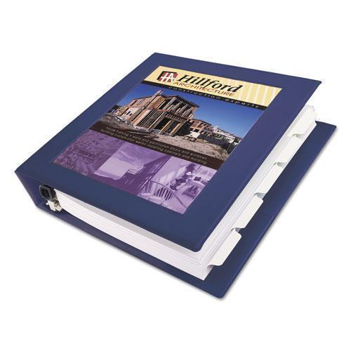 "Avery Framed View Heavy-Duty Binder W-locking 1-Touch Ezd Rings, 1 1-2"" Cap, Navy Blue-Avery®-Omni Supply"