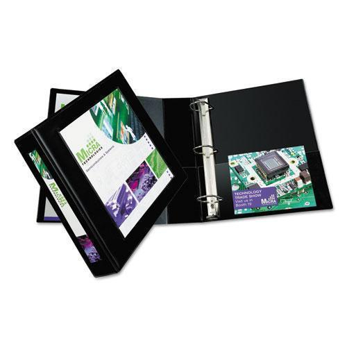 "Avery Framed View Heavy-Duty Binder W-locking 1-Touch Ezd Rings, 2"" Cap, Black-Avery®-Omni Supply"