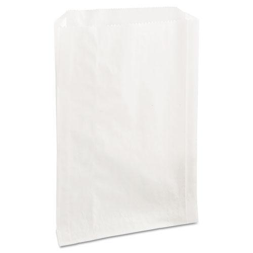 Bagcraft Pb25 Grease-Resistant Sandwich Bags, 6 1-2 X 1 X 8, White, 2000-carton-Bagcraft-Omni Supply