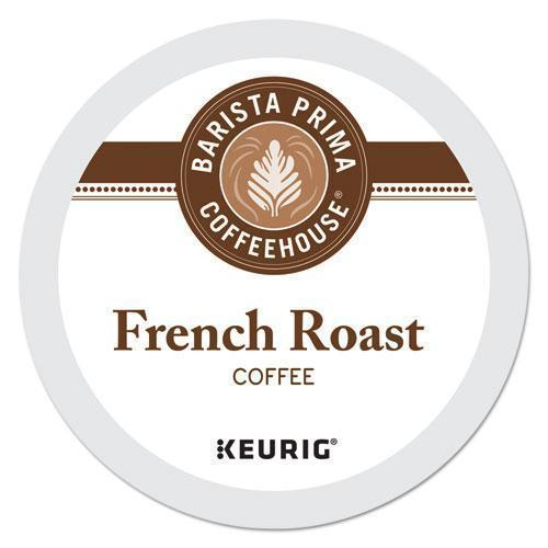 Barista French Roast K-Cups Coffee Pack, 24-box-Barista Prima Coffeehouse®-Omni Supply