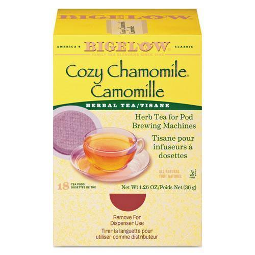 Bigelow Cozy Chamomile Herbal Tea Pods, 1.90 Oz, 18-box-Bigelow®-Omni Supply