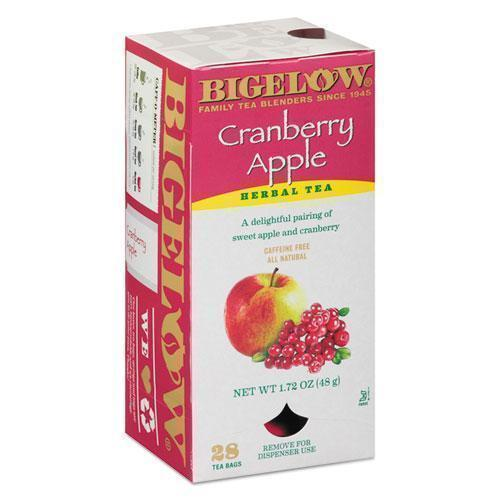 Bigelow Cranberry Apple Herbal Tea, 28-box-Bigelow®-Omni Supply