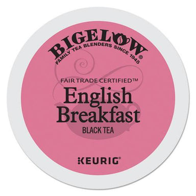 Bigelow English Breakfast Tea K-Cups, 24-box, 4 Box-carton-Bigelow®-Omni Supply
