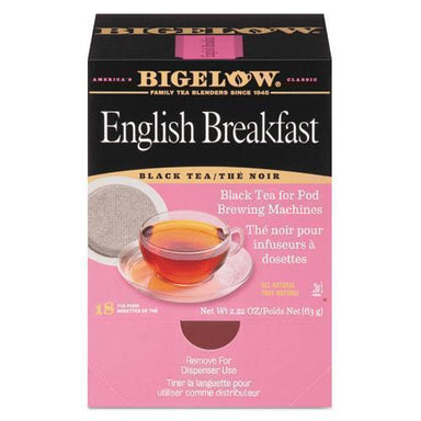 Bigelow English Breakfast Tea Pods, 1.90 Oz, 18-box-Bigelow®-Omni Supply