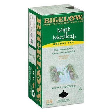 Bigelow Mint Medley Herbal Tea, 28-box-Bigelow®-Omni Supply