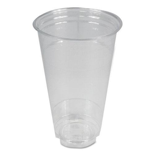 Boardwalk CLEAR PLASTIC COLD CUPS, 24 OZ, PET, 600-CARTON-Boardwalk®-Omni Supply