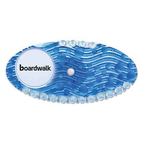 Boardwalk Curve Air Freshener, Cotton Blossom, Blue, 10-box, 6 Boxes-carton-Boardwalk®-Omni Supply