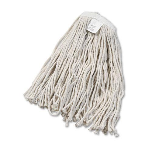 Boardwalk Cut-End Wet Mop Head, Cotton, No. 20, White-Boardwalk®-Omni Supply