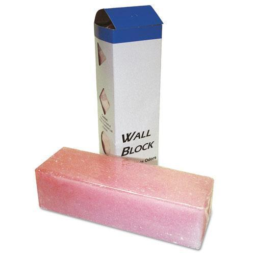 Boardwalk Deodorizing Para Wall Blocks, 24oz, Pink, Cherry, 6-box-Boardwalk®-Omni Supply
