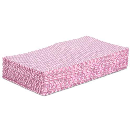 Boardwalk Foodservice Wipers, Pink-white, 12 X 21, 200-carton-Boardwalk®-Omni Supply
