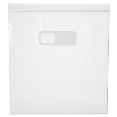 Boardwalk RECLOSABLE FOOD STORAGE BAGS, 1GAL, 1.75MIL, CLEAR, LDPE, 10.56 X 11, 250-BOX-Boardwalk®-Omni Supply