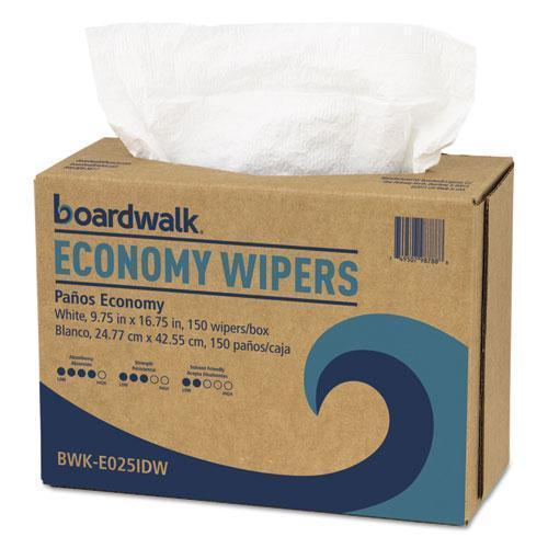Boardwalk Scrim Wipers, 4-Ply, White, 9 3-4 X 16 3-4, 900-carton-Boardwalk®-Omni Supply