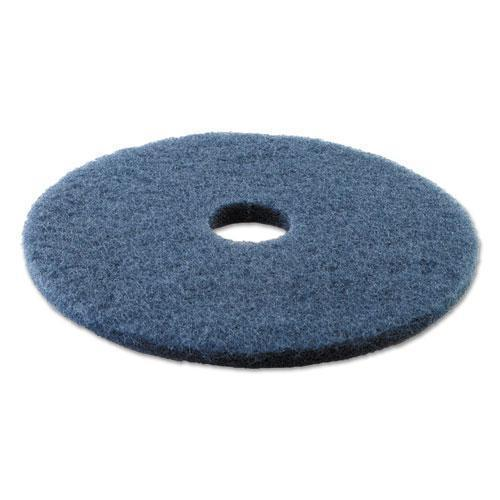 "Boardwalk SCRUBBING FLOOR PADS, 17"" DIAMETER, BLUE, 5-CARTON-Boardwalk®-Omni Supply"