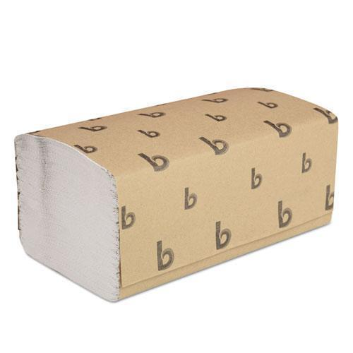 Boardwalk Singlefold Paper Towels, White, 9 X 9 9-20, 250-pack, 16 Packs-carton-Boardwalk®-Omni Supply