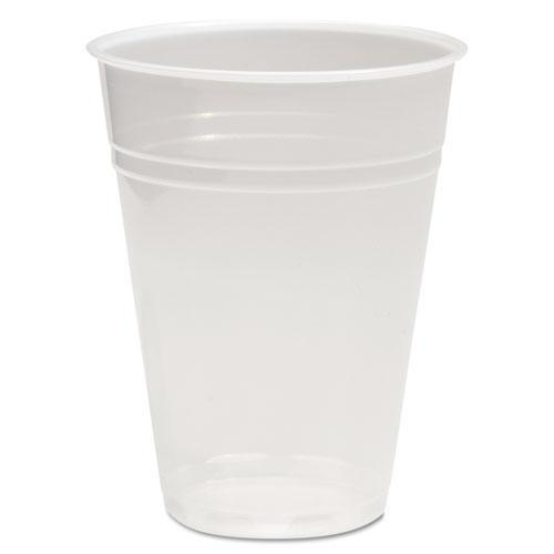 Boardwalk TRANSLUCENT PLASTIC COLD CUPS, 9OZ, POLYPROPYLENE, 100-BAG, 25 BAGS-CARTON-Boardwalk®-Omni Supply
