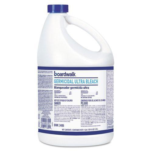 Boardwalk Ultra Germicidal Bleach, 1 Gallon Bottle, 6-carton-Boardwalk®-Omni Supply