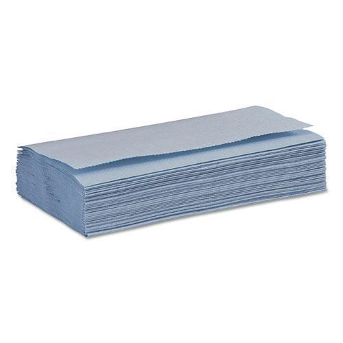 Boardwalk Windshield Paper Towels, Unscented, 9.125 X 10.25, Blue, 250-pk, 9 Packs-carton-Boardwalk®-Omni Supply