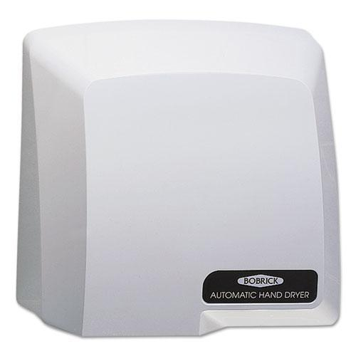 Bobrick Compact Automatic Hand Dryer, 115v, Gray-Bobrick-Omni Supply