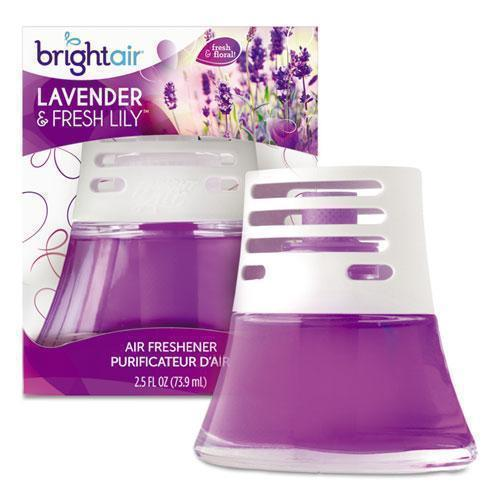 BRIGHT Air SCENTED OIL AIR FRESHENER, SWEET LAVENDER AND VIOLET, 2.5 OZ-BRIGHT Air®-Omni Supply
